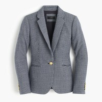 Petite Campbell blazer in houndstooth