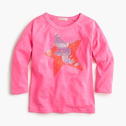 Pre-order Girls' sequin star T-shirt