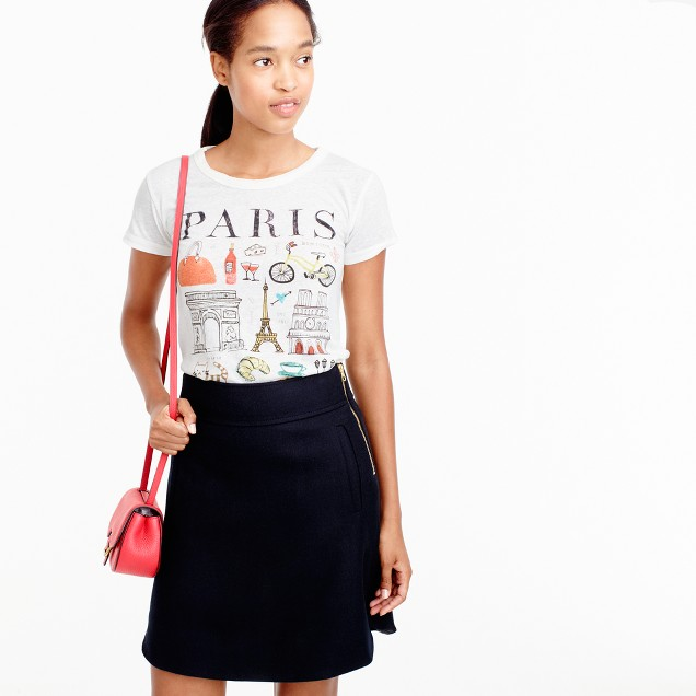 """Paris"" destination art T-shirt"