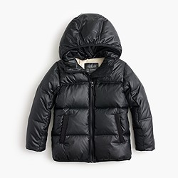 Girls' marshmallow puffer jacket
