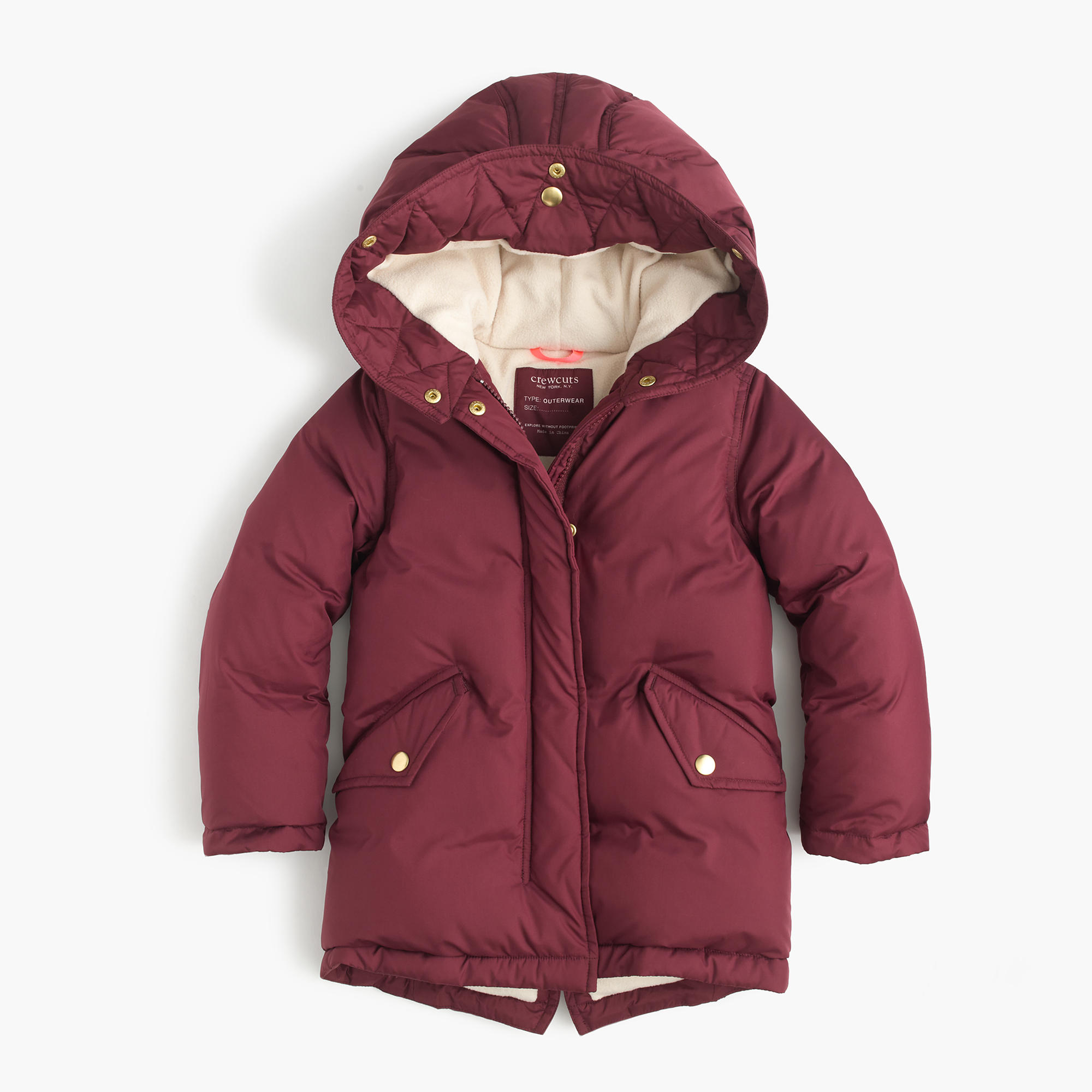 Girls' Puffer Parka : Girls' Jackets & Coats | J.Crew