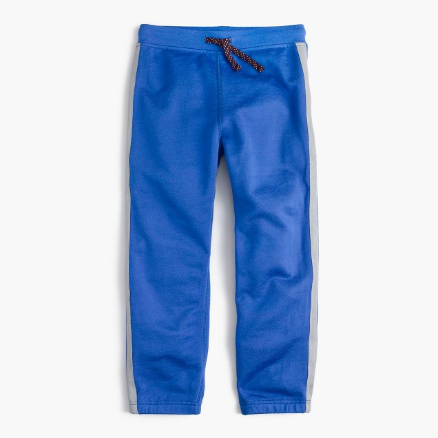 Boys' reflective side stripe sweatpant in classic fit