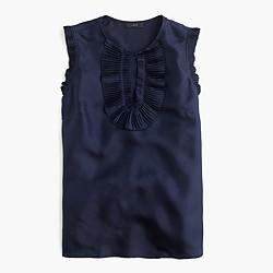 Margot top in silk