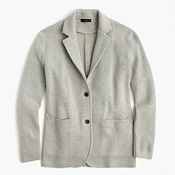 Pre-order Merino wool sweater-blazer