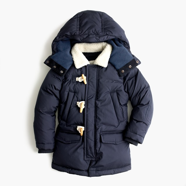 Boys' expedition parka