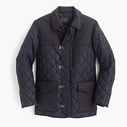 Sporting quilted jacket