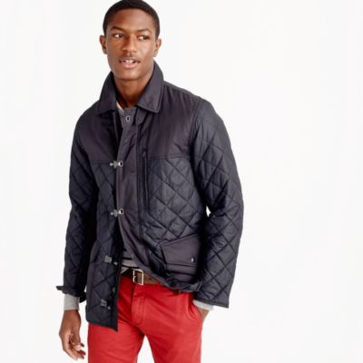 Mens Quilted Coats - Quilting