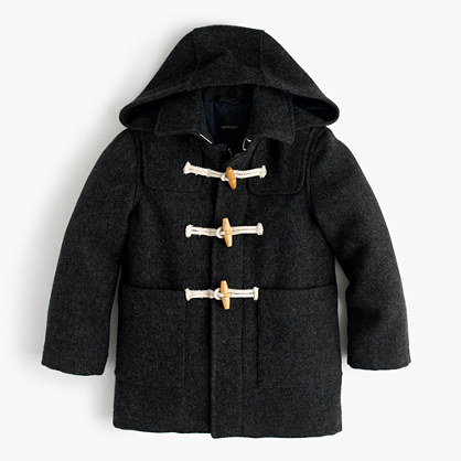 Boys' wool toggle coat with Thinsulate®