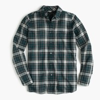 Petiteboy shirt in crinkle plaid