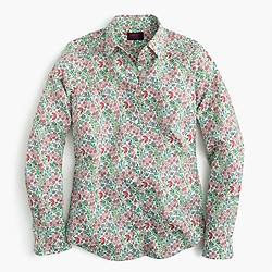 Perfect shirt in Liberty Art Fabrics Isborella print