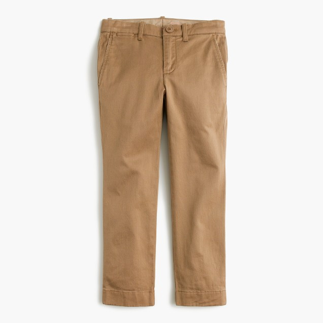 Boys' chino in stretch skinny fit