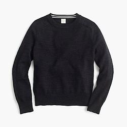 Boys' cotton crewneck sweater