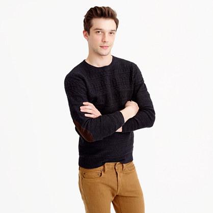 Cotton mariner crewneck sweater