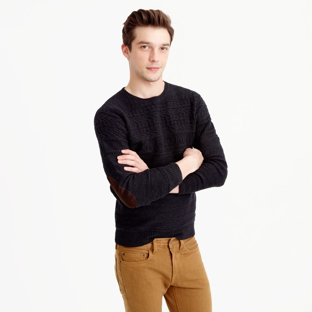 Cotton mariner crewneck sweater