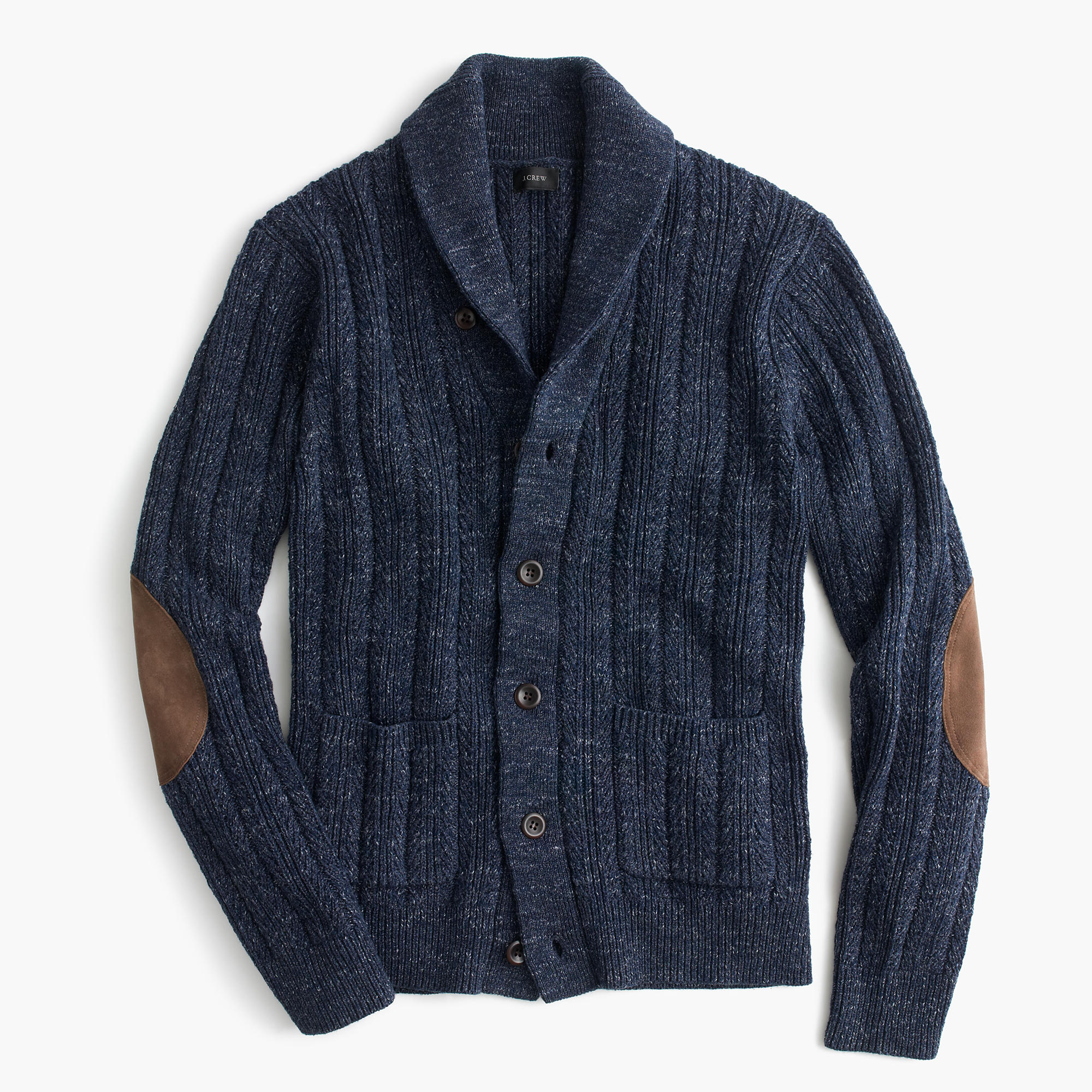 Cotton Mariner Shawl-Collar Cardigan Sweater : Men's ...