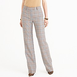 Full-length trouser in glen plaid