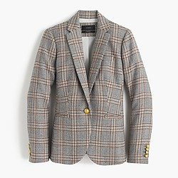 Campbell blazer in glen plaid