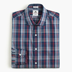 Thomas Mason® for J.Crew Ludlow shirt in blue plaid