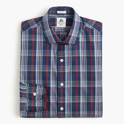 Thomas Mason® for J.Crew Ludlow shirt in blue plaid