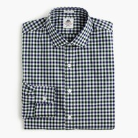 Thomas Mason® for J.Crew Ludlow shirt in green tattersall