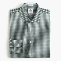 Thomas Mason® for J.Crew Ludlow shirt in green gingham