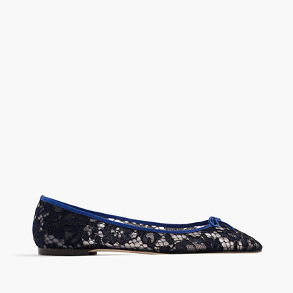 Gemma flats in lace