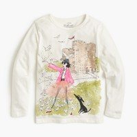 Girls' Olive & Izzy castle T-shirt
