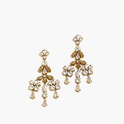 Crystal gossamer earrings