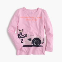Girls' Chihuahua racing T-shirt