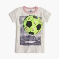"""Girls' """"far out"""" soccer T-shirt"""