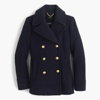 Majesty peacoat in stadium cloth