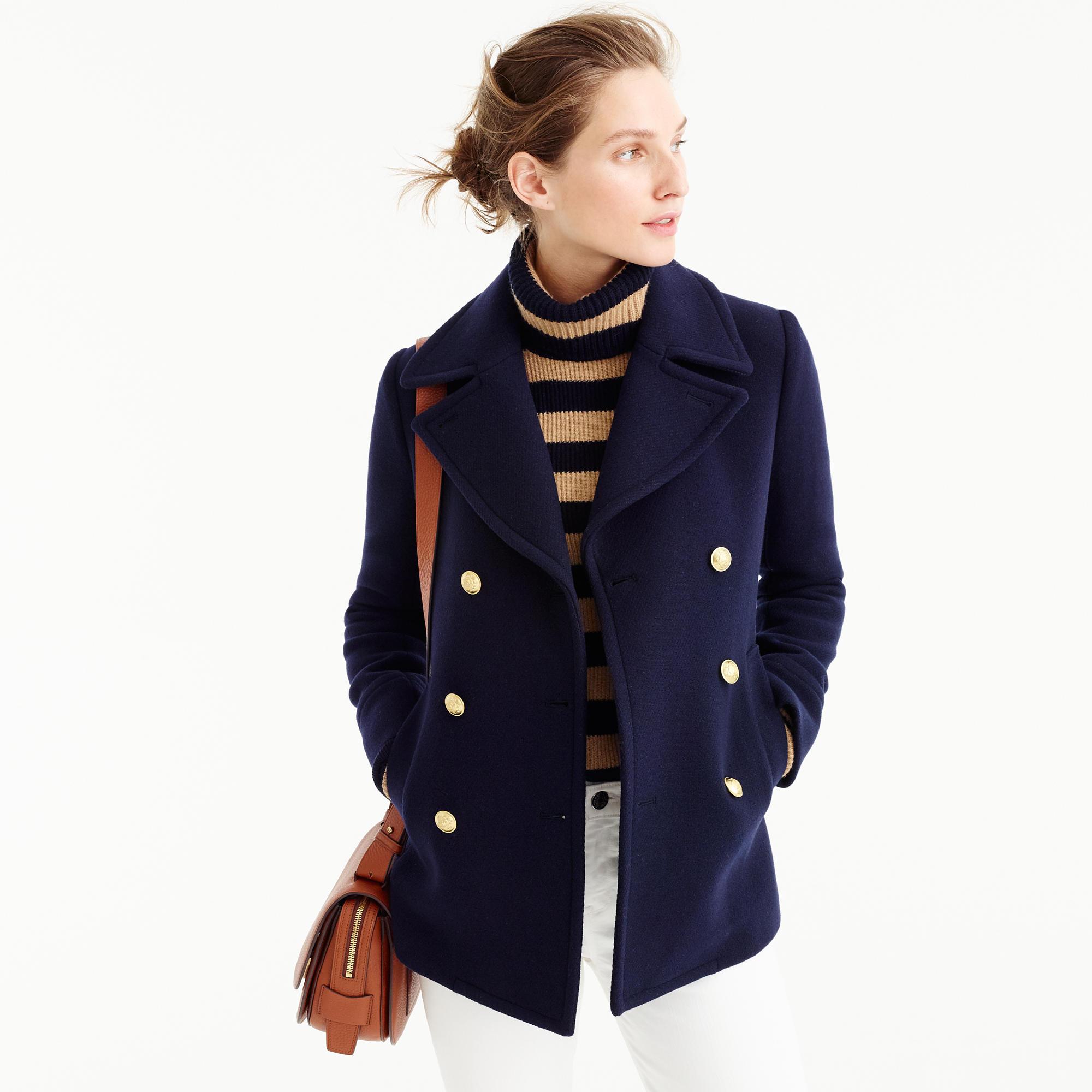 Petite Majesty Peacoat : Women&39s Coats &amp Jackets | J.Crew