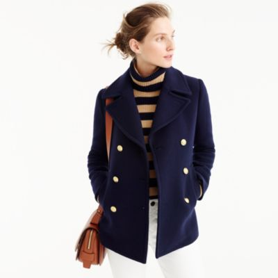 Tall Majesty Peacoat : Women's Coats & Jackets | J.Crew