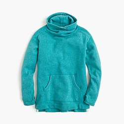 Girls' turtleneck sweater