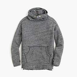 Girls' heathered turtleneck sweater