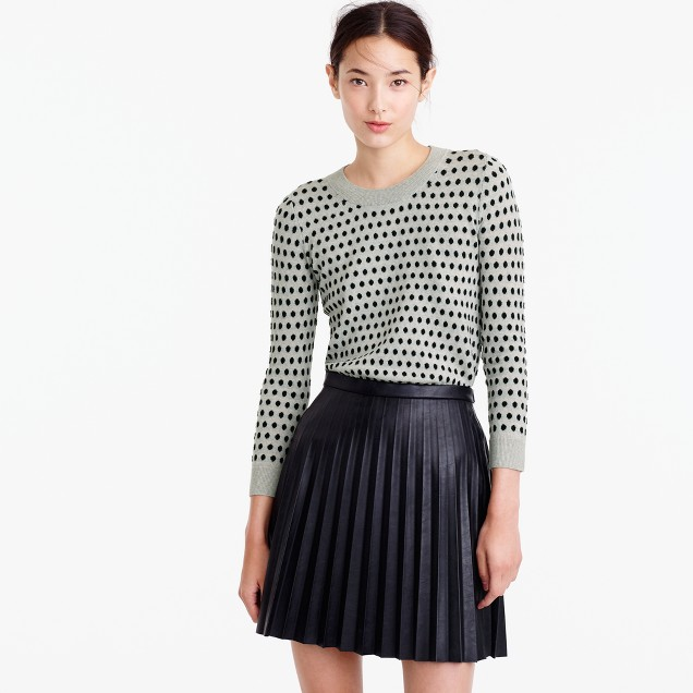 Tippi sweater in jacquard dot