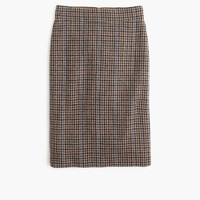 Tall no. 2 pencil skirt in houndstooth