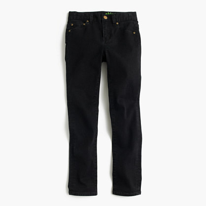 Boys' black jean in stretch skinny fit