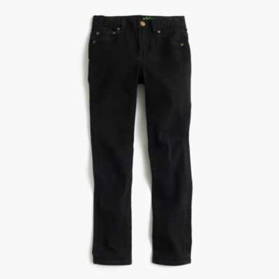 Boys' black jean in stretch skinny fit