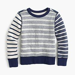 Boys' mash-up sweatshirt