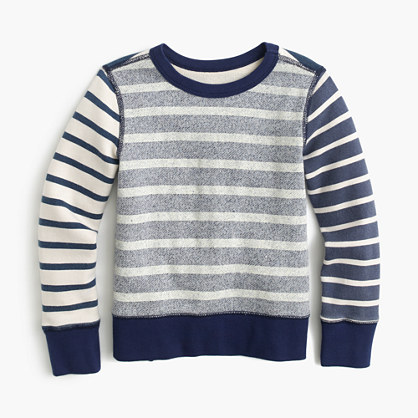 Boys' mash-up sweatshirt