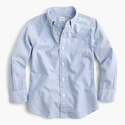 Kids' vintage oxford shirt in stripe