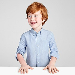 Kids' vintage oxford shirt in stripe