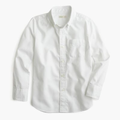 Kids' oxford cotton shirt