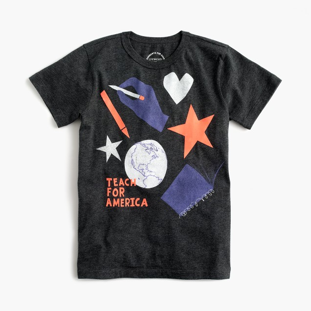 Kids' J.Crew for Teach For America T-shirt