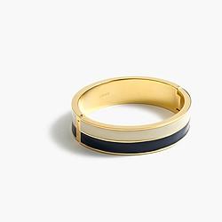 Double enamel bracelet