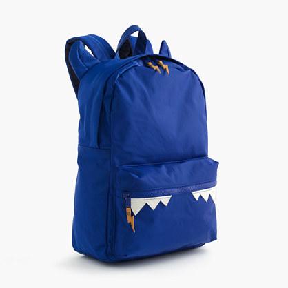 Kids' snaggletooth monster backpack