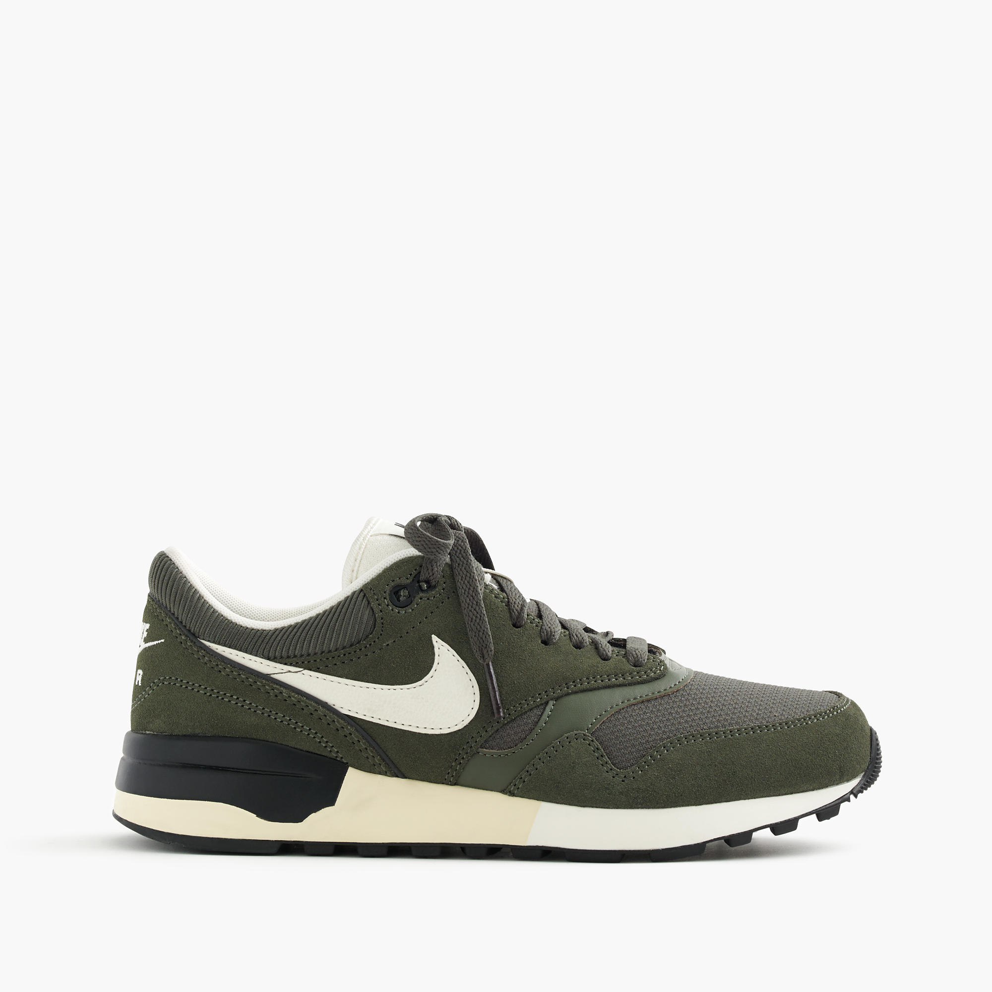 nike air odyssey sneakers in military green men 39 s sneakers j crew. Black Bedroom Furniture Sets. Home Design Ideas