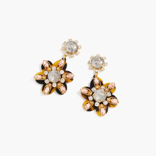 Petal burst earrings