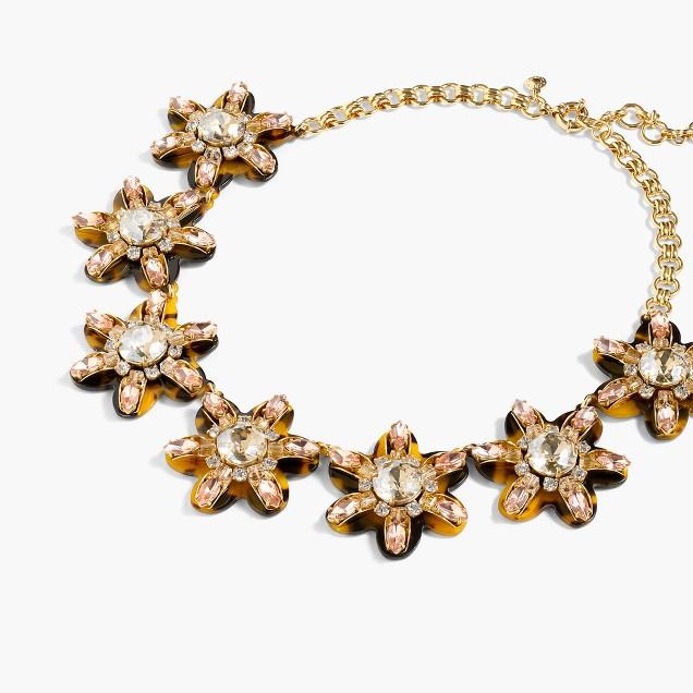 Petal burst necklace